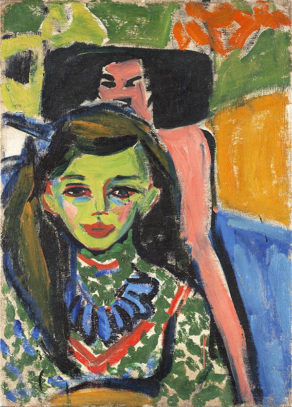 Kirchner Franzi 2 - Exposición: Expresionismo alemán en el Thyssen