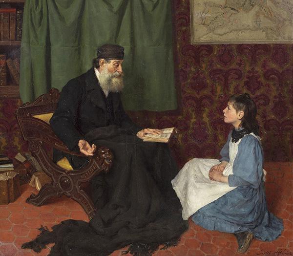 """La lección del abuelo - Una exposición del Museo del Prado indaga sobre la mujer """"como invitada incómoda"""" en el arte del siglo XIX"""