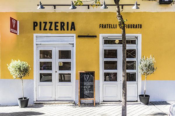 Pizzeria Fratelli Figurato Madrid - La mejor pizzeria de España está en Madrid