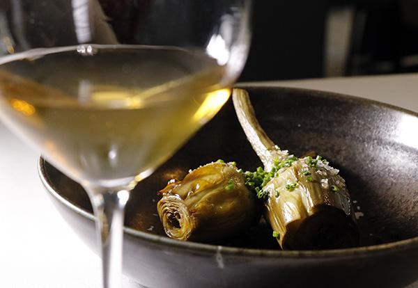 alcachofas 2 restaurante Treze Madrid - Restaurante Treze: Setas y caza para una cocina portentosa