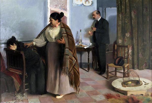 """brújula para extraviadas - Una exposición del Museo del Prado indaga sobre la mujer """"como invitada incómoda"""" en el arte del siglo XIX"""