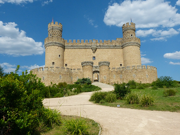 building chateau palace monument tower castle fortification spain ruins monastery madrid estate stately home historic site new castle manzanares el real 672280 - Nuevo Escape Room Urbano en Madrid