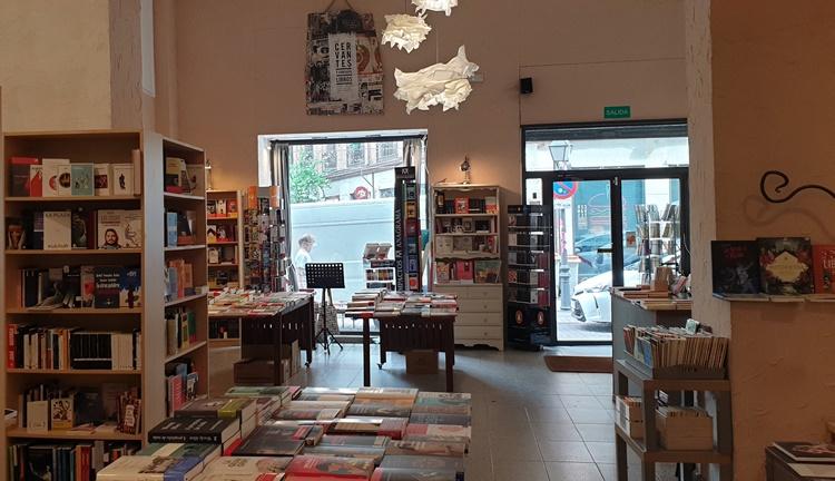 cervantes1 - Ruta por las librerías temáticas más chulas de Madrid (Parte II)