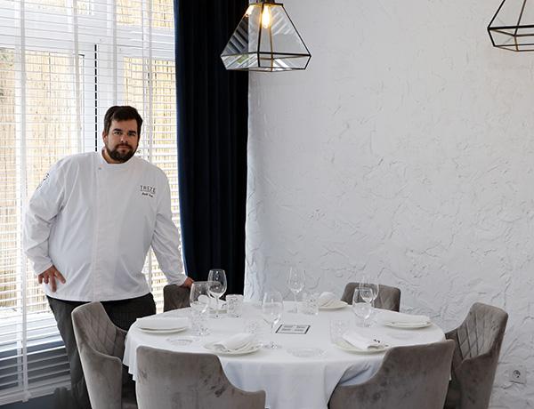 chef Saul restaurante Treze Madrid 1 - Restaurante Treze: Setas y caza para una cocina portentosa