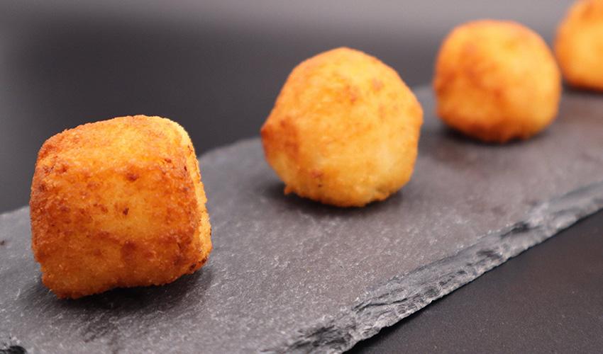 Unas de las mejores croquetas gourmet a domicilio de Madrid
