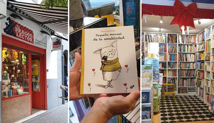 dentro libreria infantil - Ruta por las librerías temáticas más chulas de Madrid (Parte II)