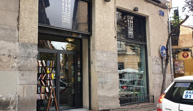 fachada vervantes - Ruta por las librerías temáticas más chulas de Madrid (Parte II)