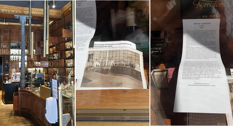 ferreteria - Seis establecimientos emblemáticos de Madrid con más de una vida