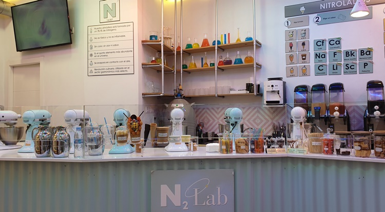 n2 lab - Historia, terracitas y shopping para un plan perfecto en Madrid