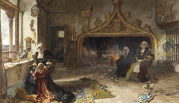 """reinas intrusas - Una exposición del Museo del Prado indaga sobre la mujer """"como invitada incómoda"""" en el arte del siglo XIX"""