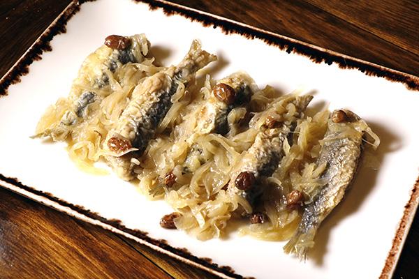 sardinas 1 - El Bacaro de Fabio Gasparini: El gusto de la cocina veneciana está en Chamberí