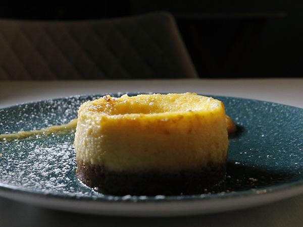 tarta queso restaurante Treze Madrid - Restaurante Treze: Setas y caza para una cocina portentosa