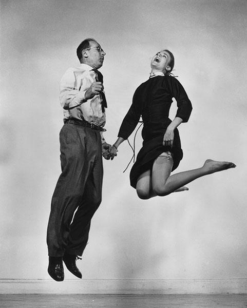 """1955 Philippe Halsman Magnum Photos - Exposición: """"El cuerpo observado"""" por los mejores fotógrafos del mundo"""
