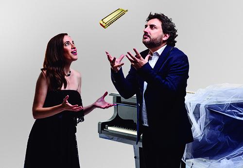 ANTONIO SERRANO y CONSTANZA LECHNER © Juan Naharro ALTA RESOLUCION - Jazz Madrid 2020: grandes conciertos y un merecidísimo adiós al maestro Iturralde
