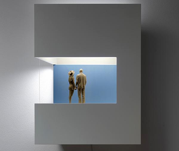 Expo Peter Demetz Lucía Mendoza Madrid 04 - El equilibrio y la calma de las piezas de Demetz se expone en la galería Lucia Mendoza