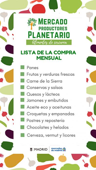 LISTA DE COMPRA MENSUAL planetario 768x1365 1 - Cita en el mercado para productores ecológicos y locales de Madrid