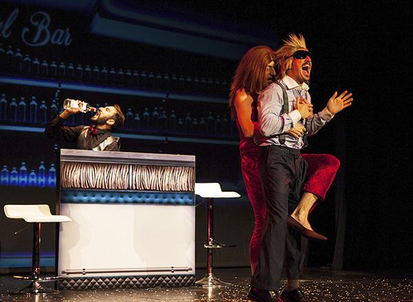 """Yllana. foto Diego Conesa  - """"Lo mejor de Yllana""""... es no parar de ir al teatro a verles"""