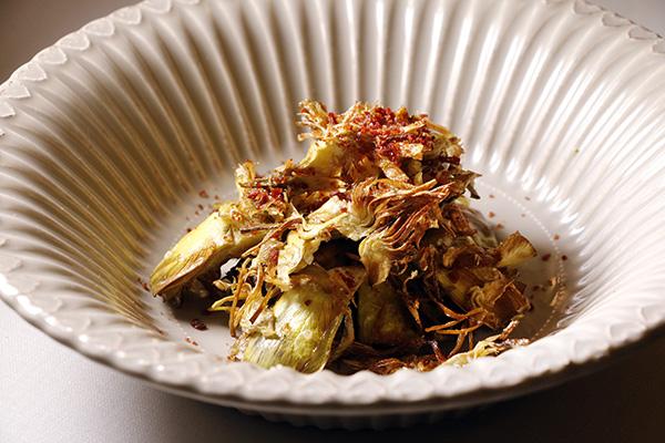 alcachofas restaurante Villoldo - Restaurante Villoldo: el entusiasmo del producto y el sabor de temporada