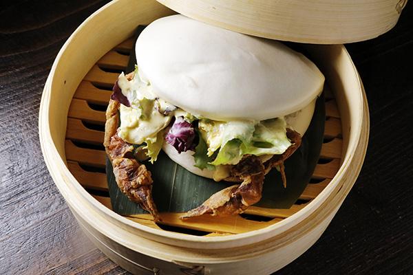 bao cangrejo Ninja Ramen Madird - Ninja Ramen, la atractiva taberna donde probar la sopa japonesa de invierno