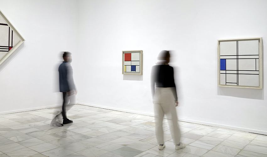 Mondrian o cuando el arte cambió su cultura visual, en el Reina Sofía de Madrid