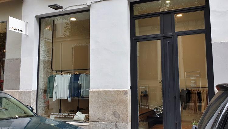 fachada neutrale - Planes en Madrid: cinco tiendas de moda sostenible