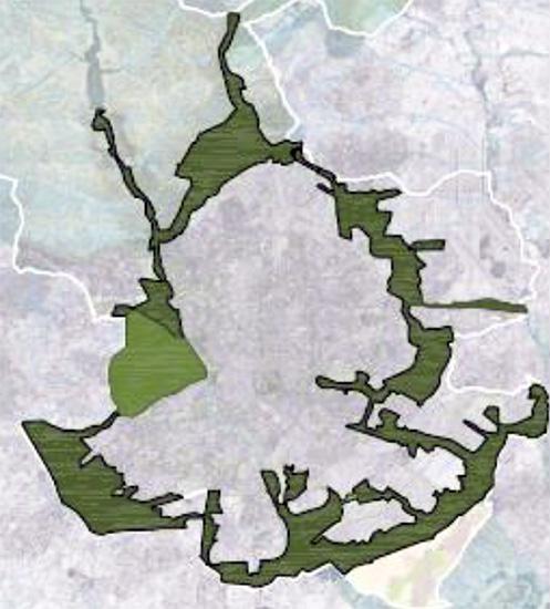 mapa 2 bosque metropolitano Madrid - ¿Qué es el Bosque Metropolitano de Madrid?