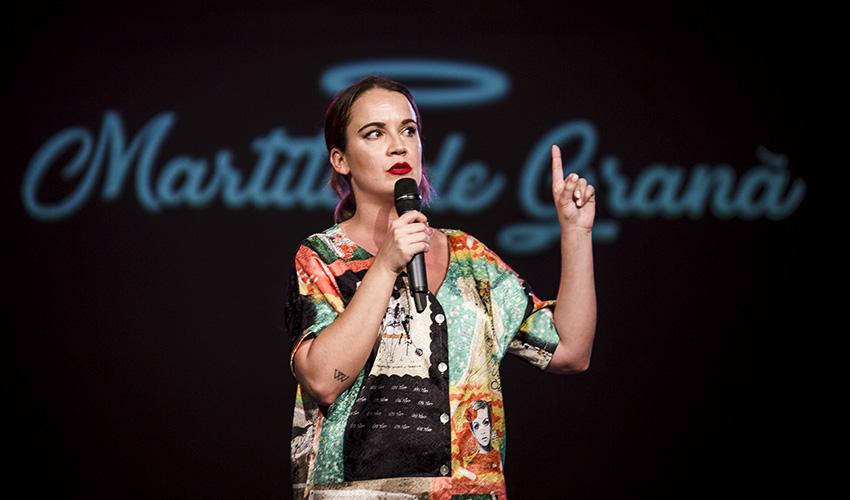 Martita de Graná trae todo su humor cotidiano, canalla y desinhibido a Madrid