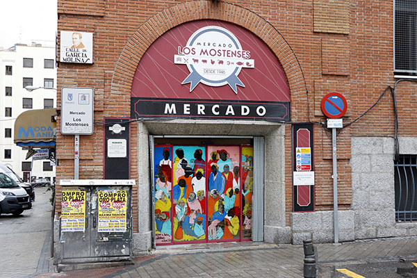 "pinta malasaña Madrid Mercado Mostenses3 - 50 grafiteros actúan en el Mercado de los Mostenses para ""Pinta Malasaña"""