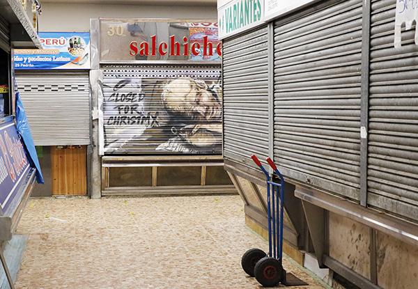 "pinta malasaña Madrid Mercado Mostenses5 - 50 grafiteros actúan en el Mercado de los Mostenses para ""Pinta Malasaña"""
