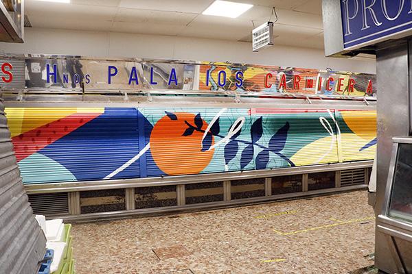 "pinta malasaña Madrid Mercado Mostenses6 - 50 grafiteros actúan en el Mercado de los Mostenses para ""Pinta Malasaña"""