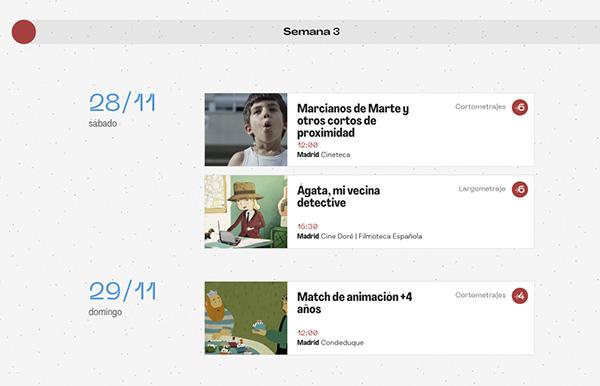 """programa CINE Madrid - 90 películas para niños en """"Mi primer festival de cine"""""""