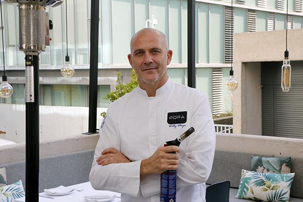 restaurante Popa Madrid chef 1 - Restaurante Popa: bocados de mestizaje y sabor imaginados por el chef Willy Moya