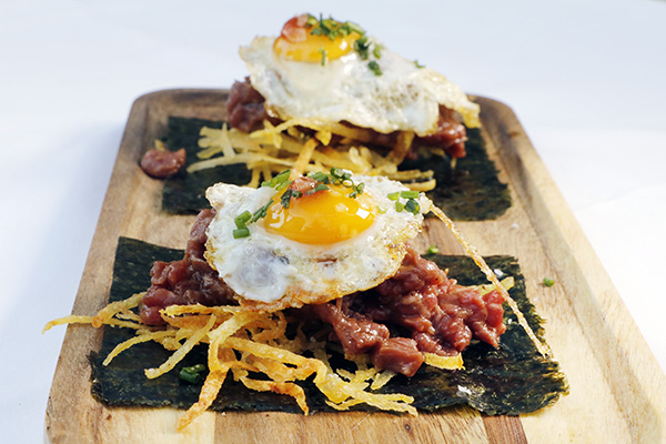 restaurante Popa Madrid plato 04 - Restaurante Popa: bocados de mestizaje y sabor imaginados por el chef Willy Moya