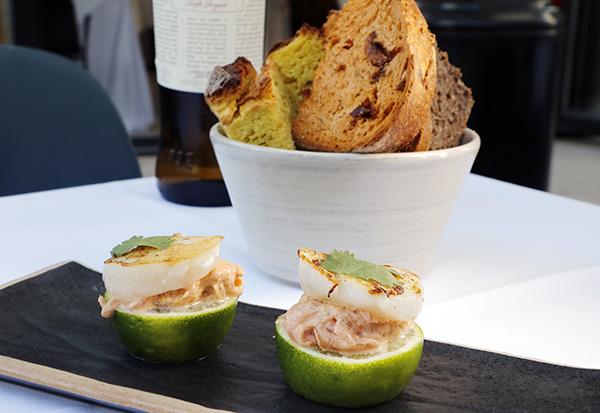 restaurante Popa Madrid plato 06 - Restaurante Popa: bocados de mestizaje y sabor imaginados por el chef Willy Moya