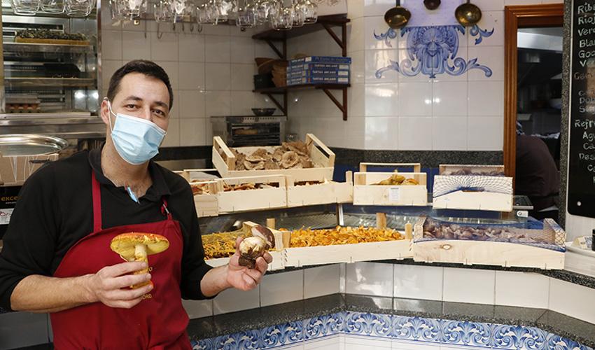 Bar El Imperio: La superpotencia madrileña en cocina de setas de temporada