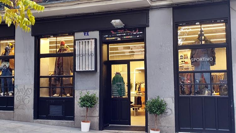 sportivo fachada - 5 tiendas de Madrid para hombres que buscan vestir diferente