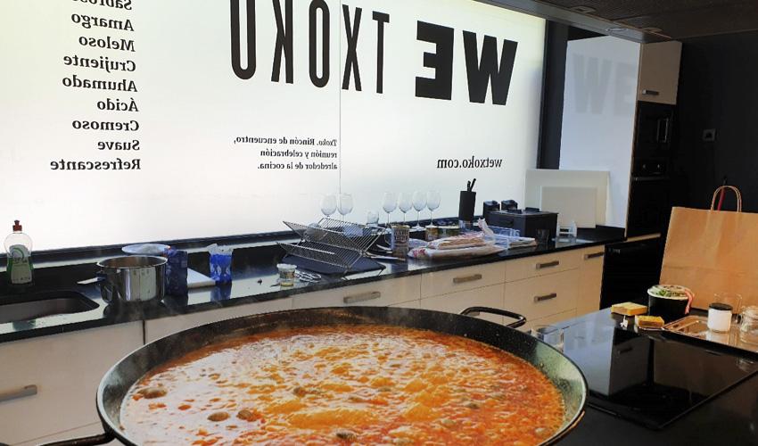 WETXOKO, el nuevo espacio en Madrid para tus eventos de empresa y particulares alrededor de la cocina
