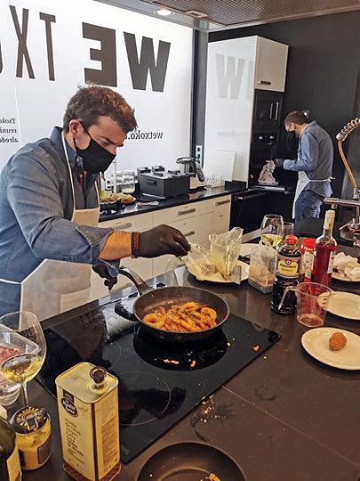 wetxoko Madrid 3 - WETXOKO, el nuevo espacio en Madrid para tus eventos de empresa y particulares alrededor de la cocina