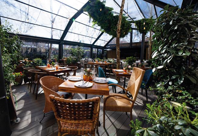 El jardin de Arzabal 01 - 10 terrazas de Madrid acondicionadas para el invierno