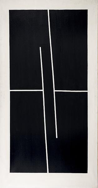 IBARROLA Sin titulo 1973 79 oleo lienzo 190x100 cm 6 - Ibarrola y Sasek, dos exposiciones para despedir el año en Madrid