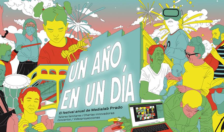 Niño de Elche y Mastretta actúan en «Un año en un día» de Medialab Prado