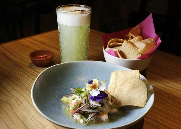 Restaurante Tepic Aguachile de camarón - Restaurante Tepic: viaje a la sensibilidad y el producto de la cocina mexicana