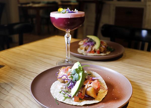 Restaurante Tepic. Taco Baja California - Restaurante Tepic: viaje a la sensibilidad y el producto de la cocina mexicana