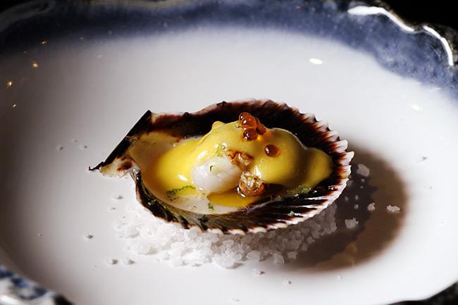 plato 01 aceite Rita Sibarita - Restaurante Rita Sibarita: cuando un aceite extraordinario ensalza una buena cocina