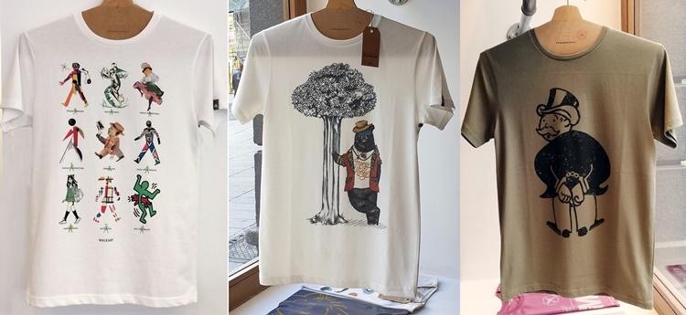 typographiacamisetas - Dónde comprar camisetas originales en Madrid