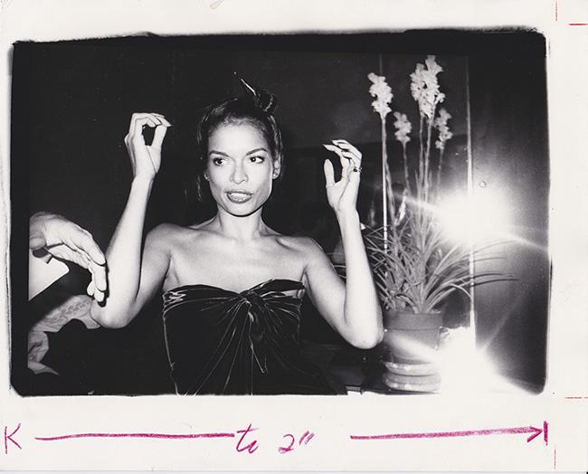 Bianca Jagger Halstons House NYC 1976 - Exposición: La intimidad de Andy Warhol fotografiada por su colaborar más cercano