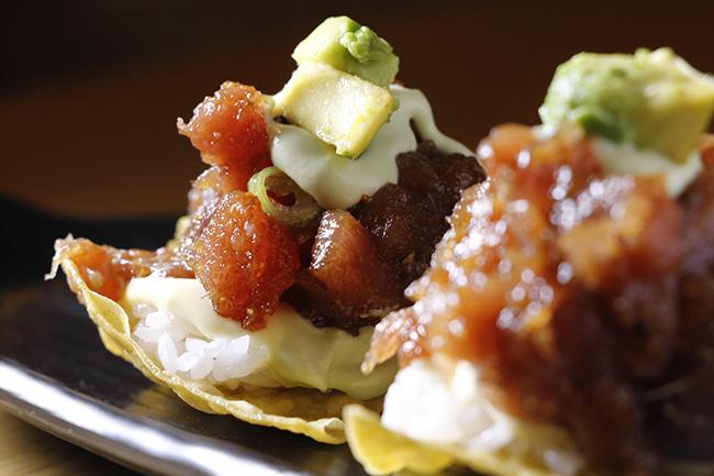 Cilindro taco atun - Restaurante peruano Cilindro: la proeza de una cocina viajera, valiente y sabrosa