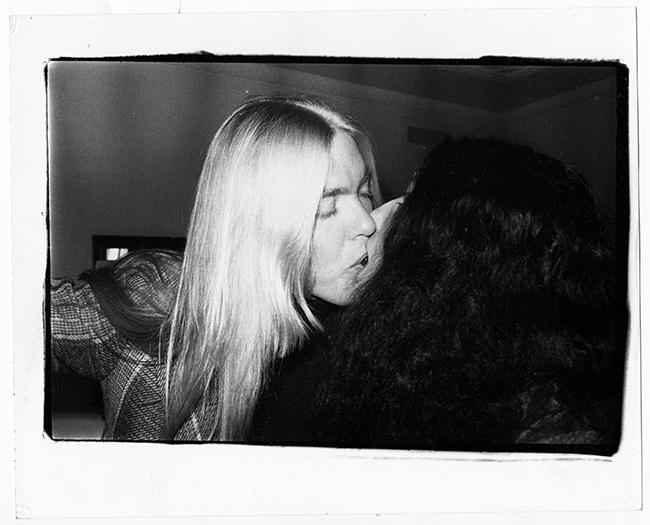 Gregg Allman and Cher Carter Inauguration White House Reception 1977 - Exposición: La intimidad de Andy Warhol fotografiada por su colaborar más cercano