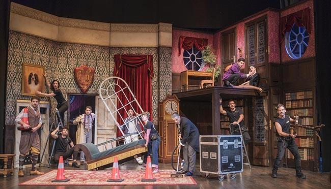"""LA FUNCION QUE SALE MAL in fragganti - Teatro: """"La función que sale mal"""" es la comedia más premiada del mundo"""