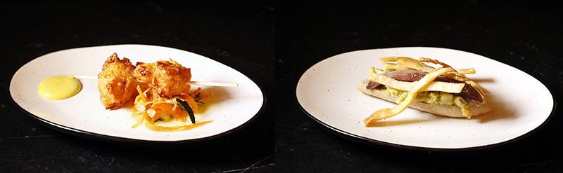 Restaurante D Platos deleite buñuelo sardina - Restaurante D´Platos deleite: tapeo de altura con alma granadina en un local muy chic